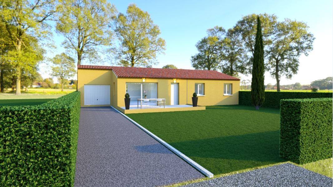 Maisons du constructeur TRADICONFORT SUD EST • 91 m² • CAROMB