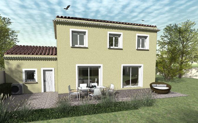 Maisons du constructeur TRADICONFORT SUD EST • 121 m² • ORANGE