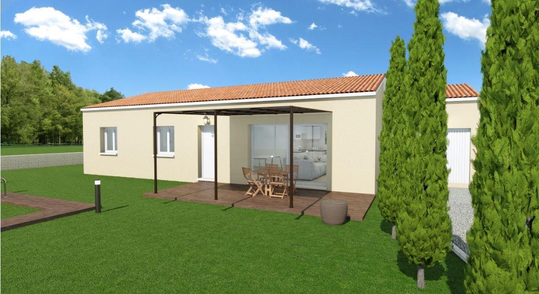 Maisons du constructeur TRADICONFORT SUD EST • 91 m² • VACQUEYRAS