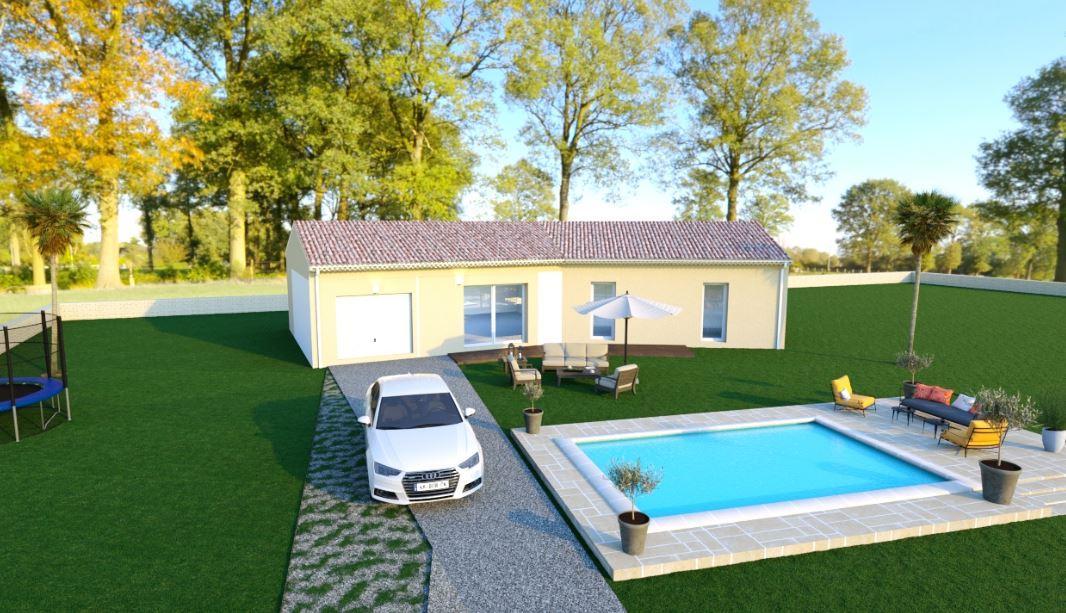 Maisons du constructeur TRADICONFORT SUD EST • 86 m² • LAPALUD
