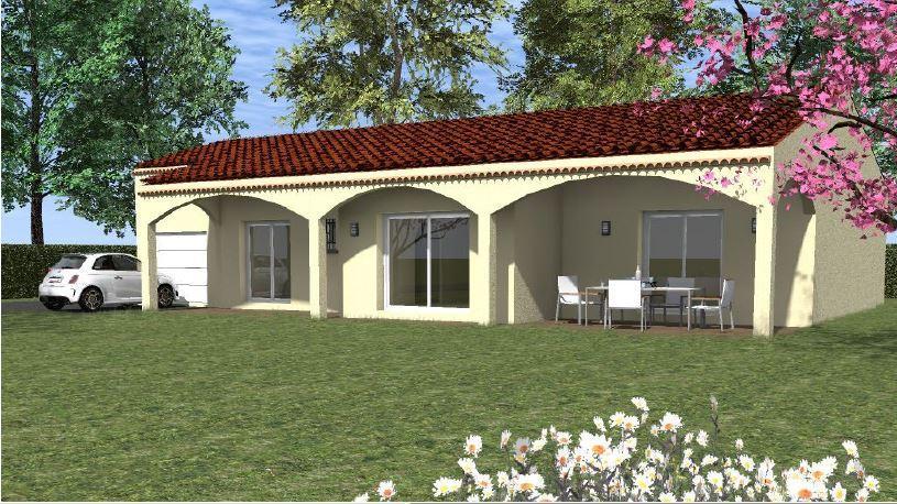 Maisons du constructeur TRADICONFORT SUD EST • 90 m² • ALTHEN DES PALUDS