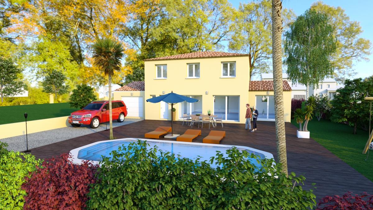 Maisons du constructeur TRADICONFORT 83 • 109 m² • LA VALETTE DU VAR