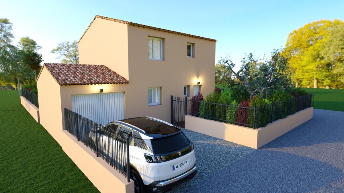 Maisons du constructeur TRADICONFORT 83 • 80 m² • LA GARDE