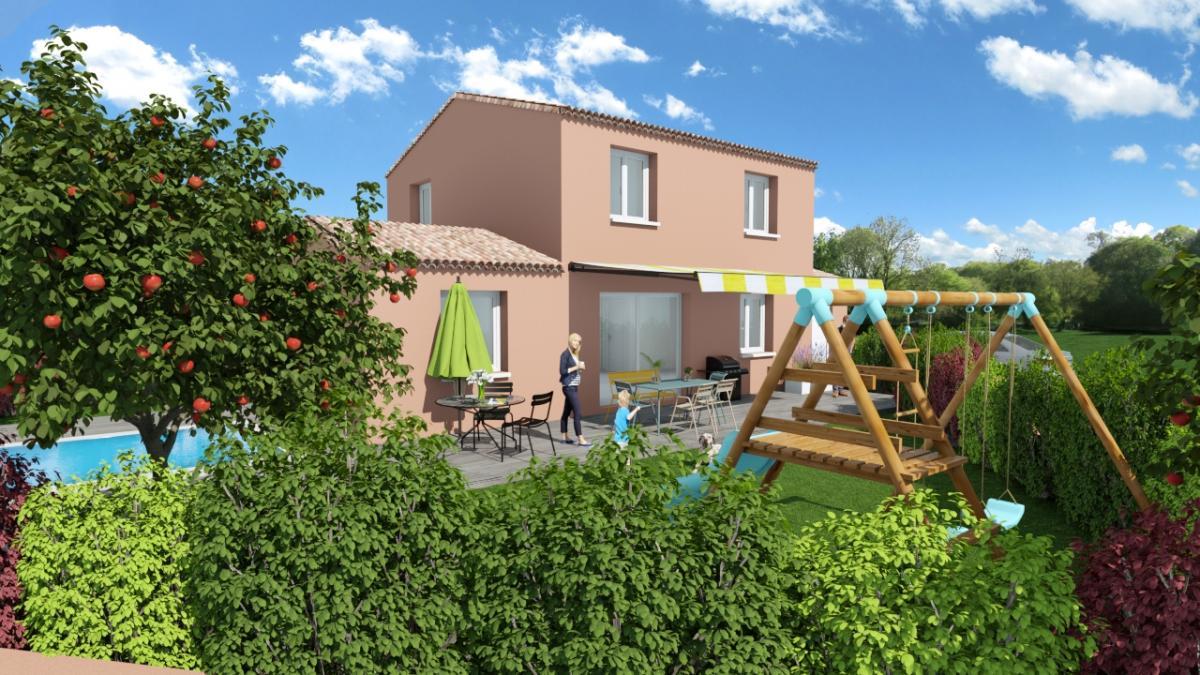 Maisons du constructeur TRADICONFORT 83 • 86 m² • TOULON