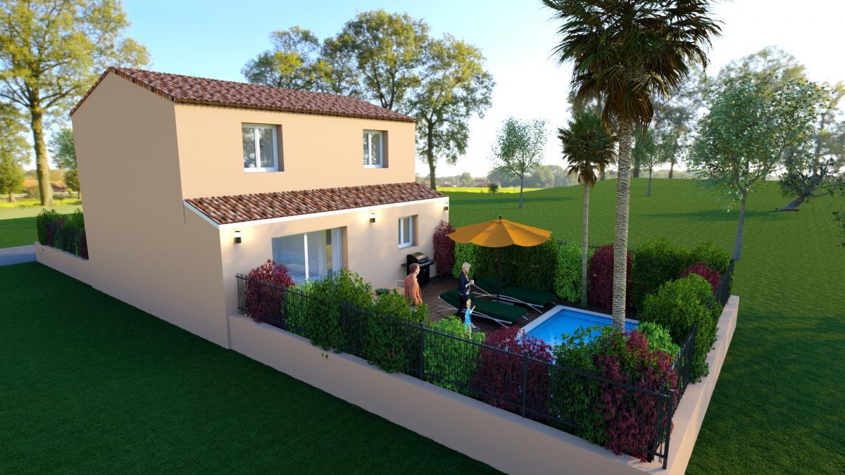 Maisons du constructeur TRADICONFORT 83 • 86 m² • CARNOULES