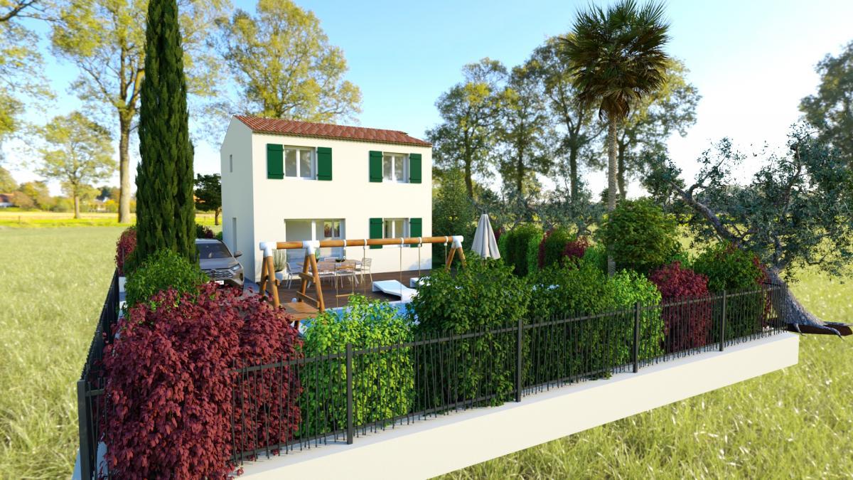 Maisons du constructeur TRADICONFORT 83 • 86 m² • PUGET VILLE