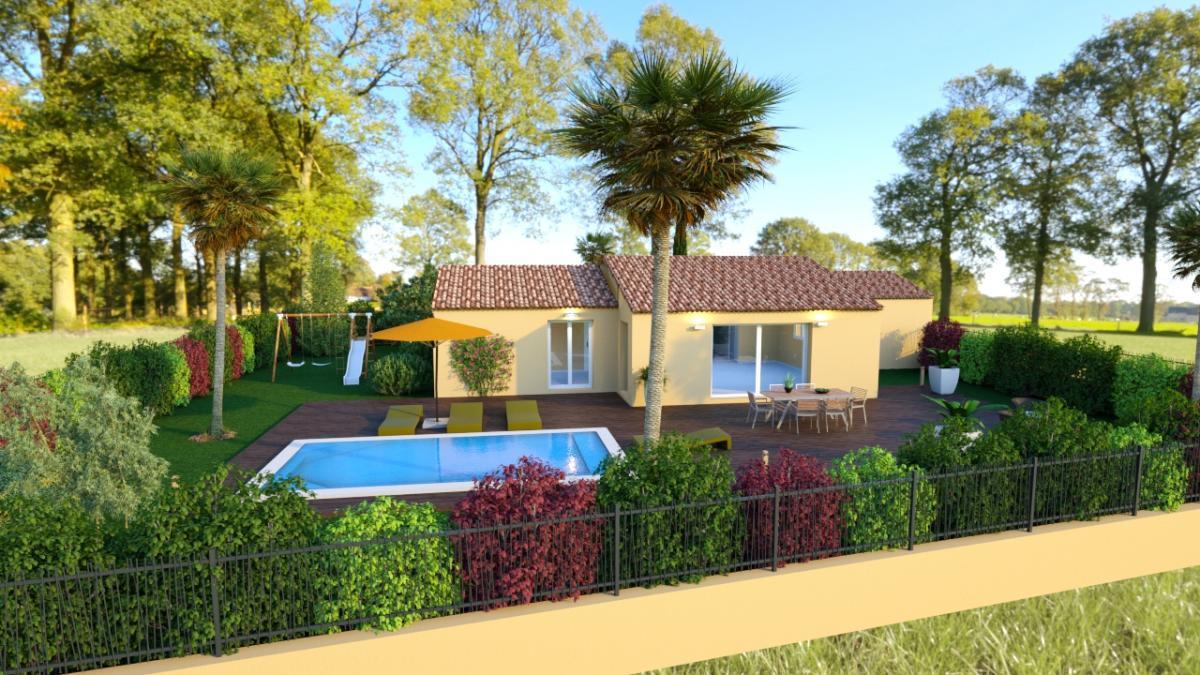 Maisons du constructeur TRADICONFORT 83 • 110 m² • SILLANS LA CASCADE