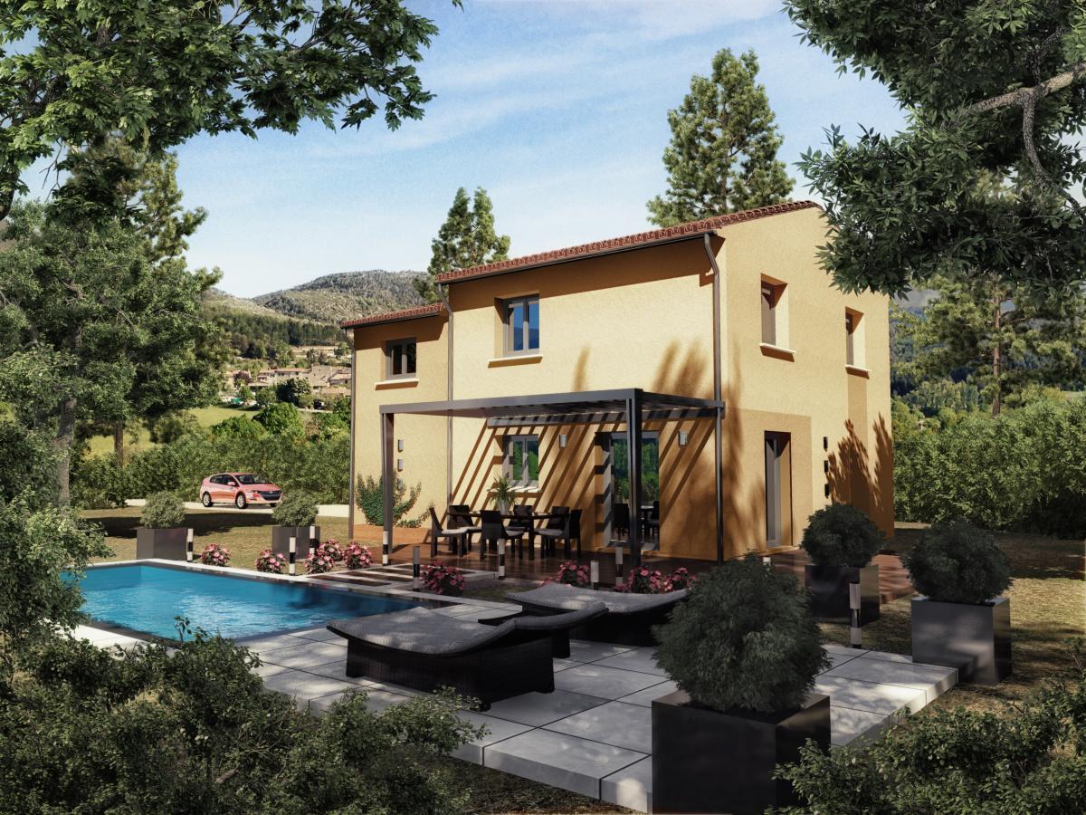 Maisons du constructeur TRADICONFORT 83 • 90 m² • FAYENCE