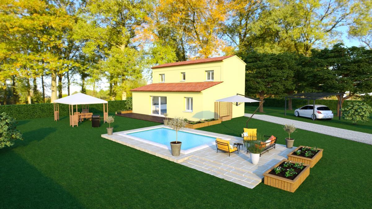 Maisons du constructeur TRADICONFORT 83 • 100 m² • LORGUES