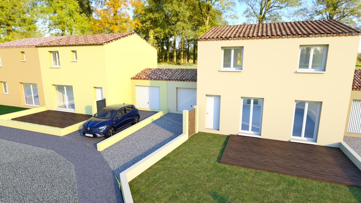 Maisons du constructeur TRADICONFORT 83 • 79 m² • PIERREFEU DU VAR