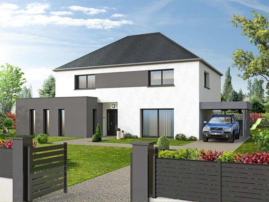 Maisons + Terrains du constructeur MAISON D'EN FRANCE HAUTE NORMANDIE • 210 m² • LA NEUVILLE CHANT D'OISEL