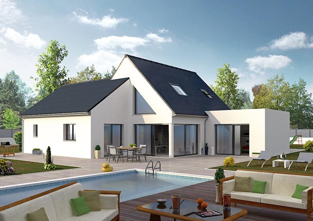 Maisons + Terrains du constructeur MAISON D'EN FRANCE HAUTE NORMANDIE • 137 m² • BENNECOURT
