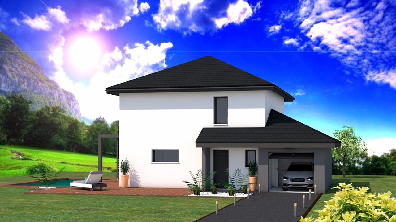 Maisons + Terrains du constructeur DF2G • 105 m² • MARCELLAZ ALBANAIS