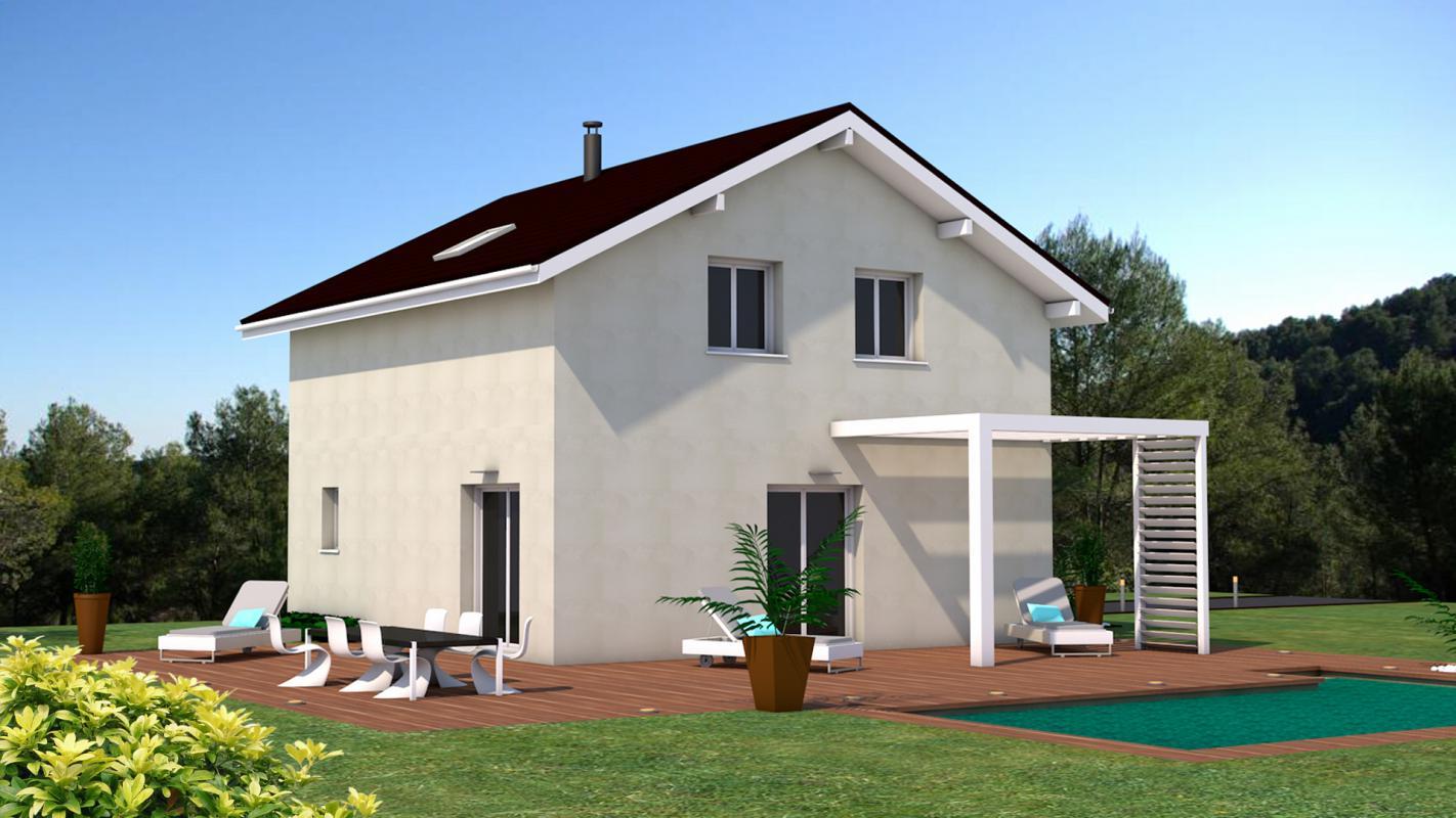 Maisons + Terrains du constructeur DF2G • 90 m² • RUMILLY