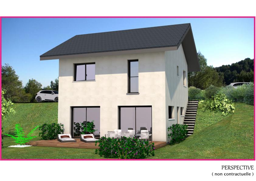 Maisons + Terrains du constructeur DF2G • 95 m² • LORNAY