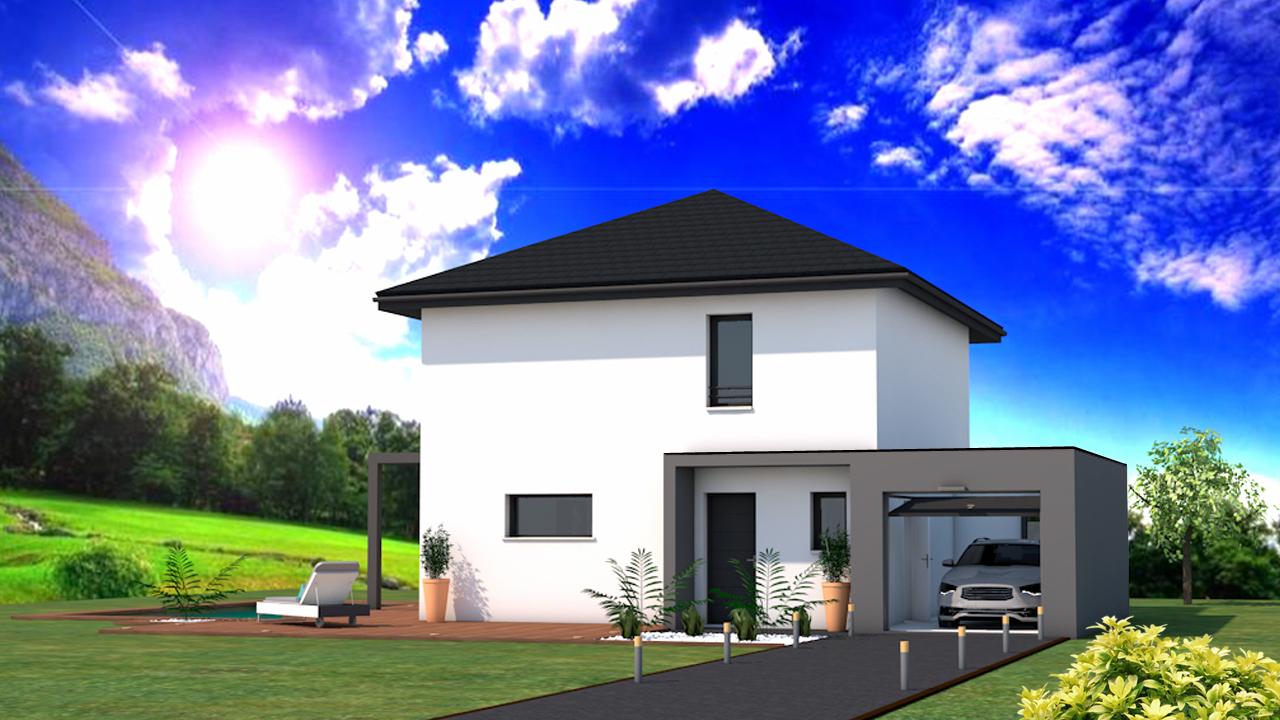 Maisons + Terrains du constructeur DF2G • 100 m² • FESSY