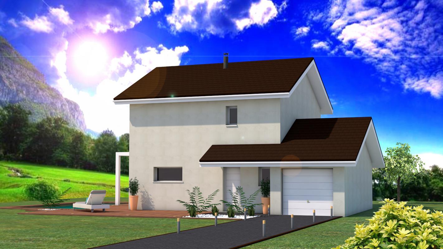 Maisons + Terrains du constructeur DF2G • 100 m² • MASSONGY