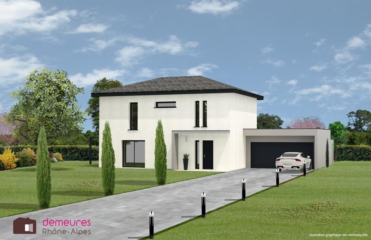 Maisons + Terrains du constructeur DF2G • 135 m² • MESSERY