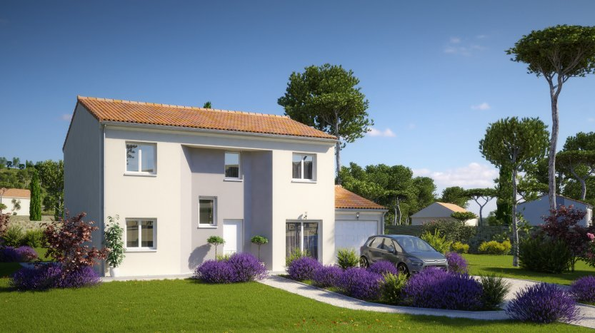 Maisons du constructeur MAISONS PIERRE PESSAC • 133 m² • LANGOIRAN