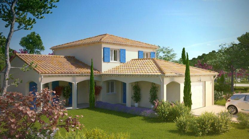 Maisons du constructeur MAISONS PIERRE PESSAC • 129 m² • CAMBLANES ET MEYNAC