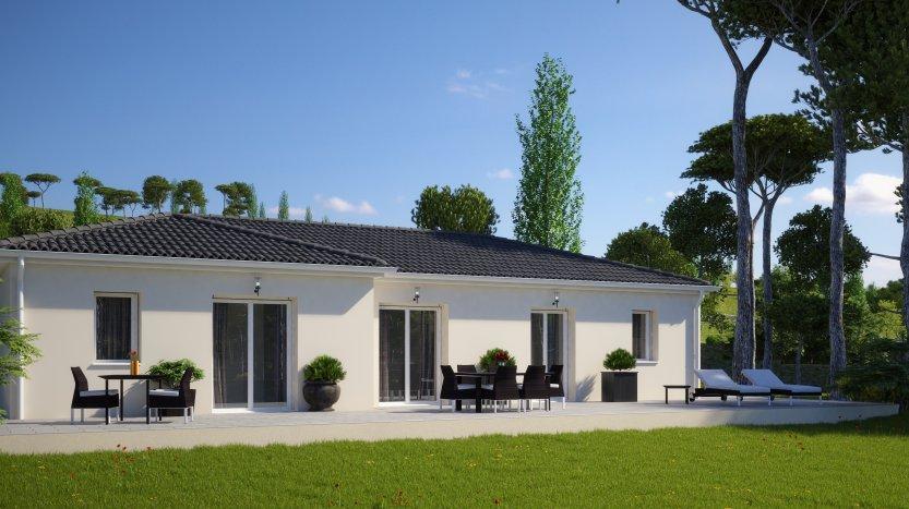 Maisons du constructeur MAISONS PIERRE PESSAC • 99 m² • SALLEBOEUF