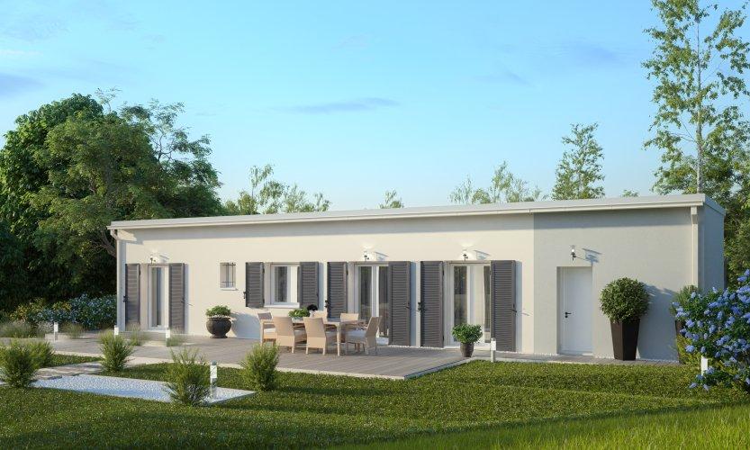 Maisons du constructeur MAISONS PIERRE PESSAC • 116 m² • GALGON