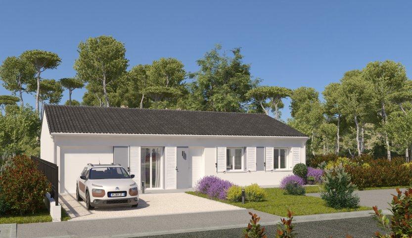 Maisons du constructeur MAISONS PIERRE - PESSAC • 90 m² • SAINT ANDRE DE CUBZAC