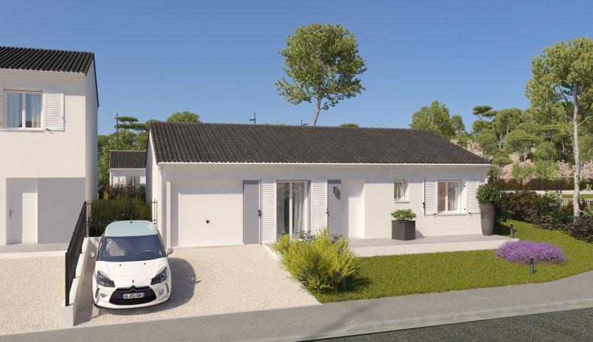 Maisons du constructeur MAISONS PIERRE - PESSAC • 78 m² • BEAUTIRAN