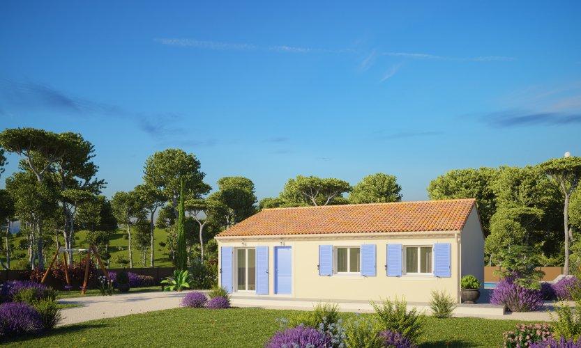 Maisons du constructeur MAISONS PIERRE - PESSAC • 79 m² • BEAUTIRAN