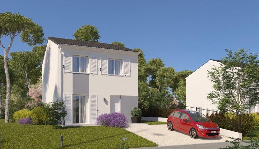 Maisons du constructeur MAISONS PIERRE - PESSAC • 80 m² • BEAUTIRAN
