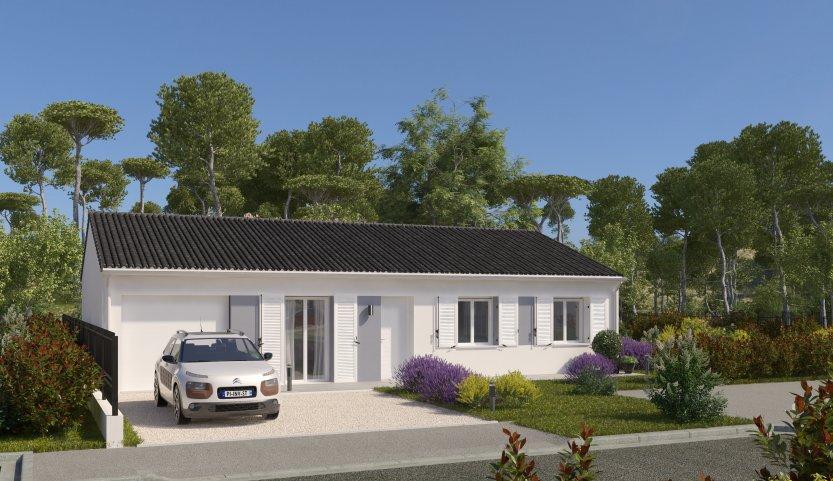 Maisons du constructeur MAISONS PIERRE - PESSAC • 90 m² • GALGON