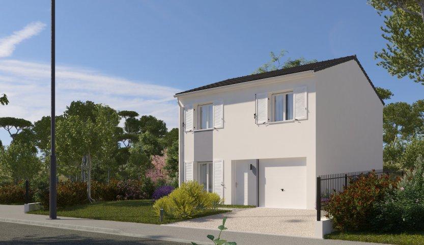 Maisons du constructeur MAISONS PIERRE - EVRY • 87 m² • LES MOLIERES