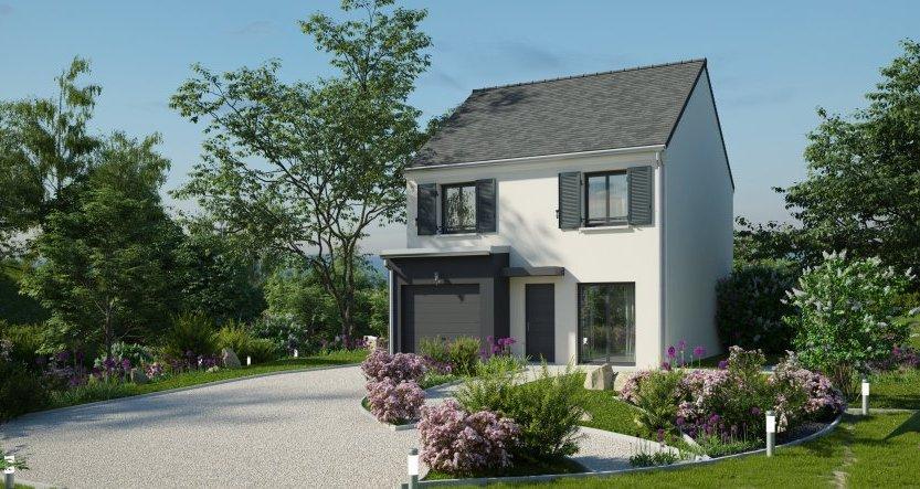 Maisons du constructeur MAISONS PIERRE - EVRY • 90 m² • CERNY