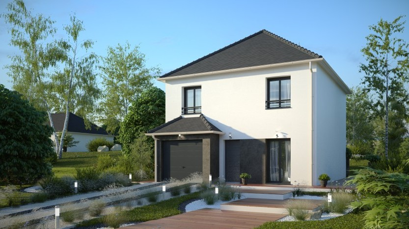 Maisons du constructeur MAISONS PIERRE - EVRY • 96 m² • COUBRON