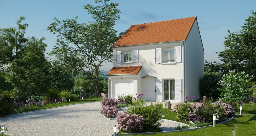 Maisons du constructeur MAISONS PIERRE - EVRY • 90 m² • LIMOURS