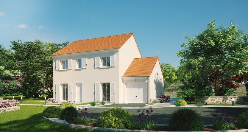 Maisons du constructeur MAISONS PIERRE - EVRY • 110 m² • SAINT JEAN DE BEAUREGARD