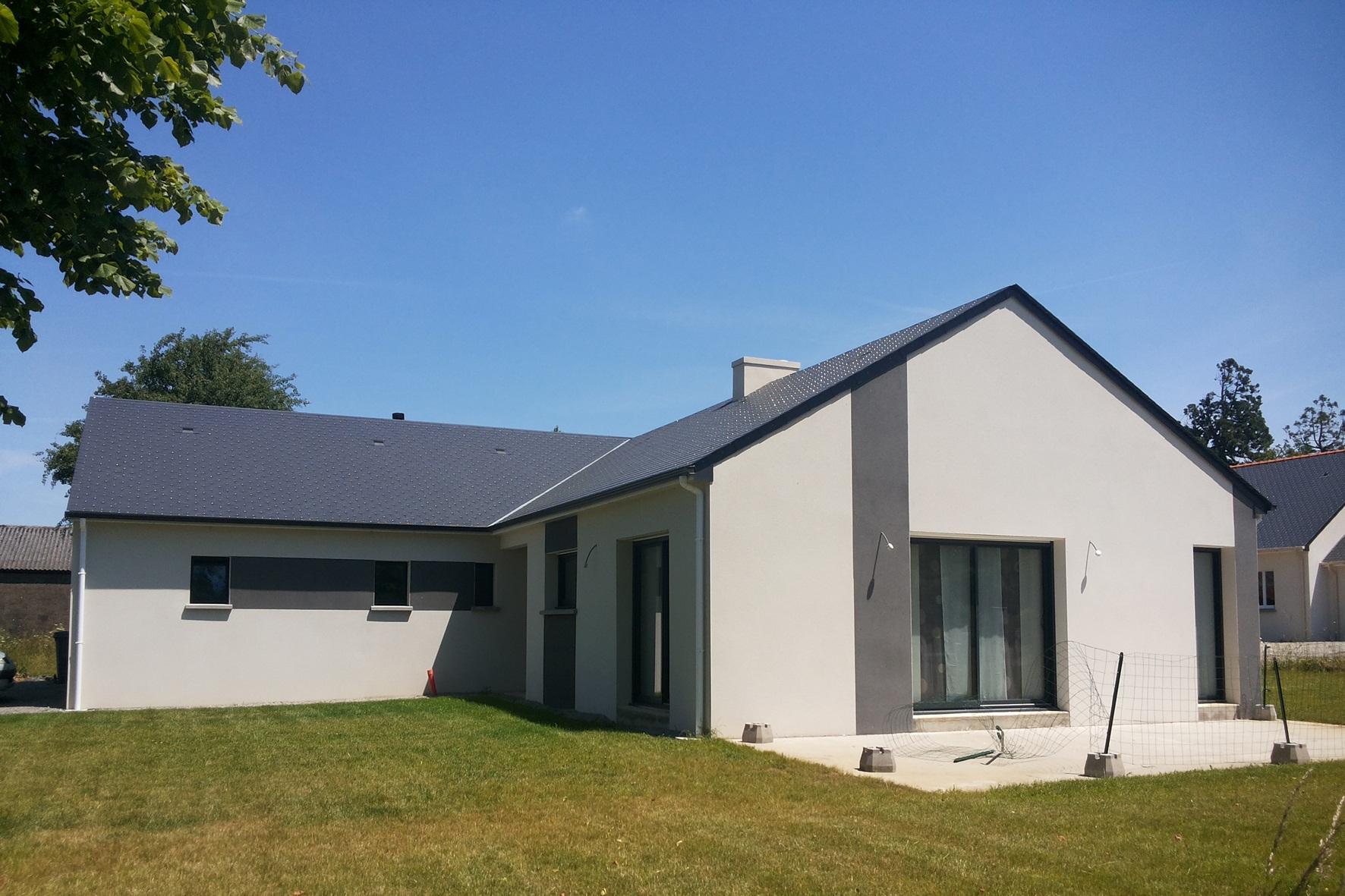 Maisons + Terrains du constructeur MAISON FAMILIALE RENNES • 94 m² • CHATEAUBOURG