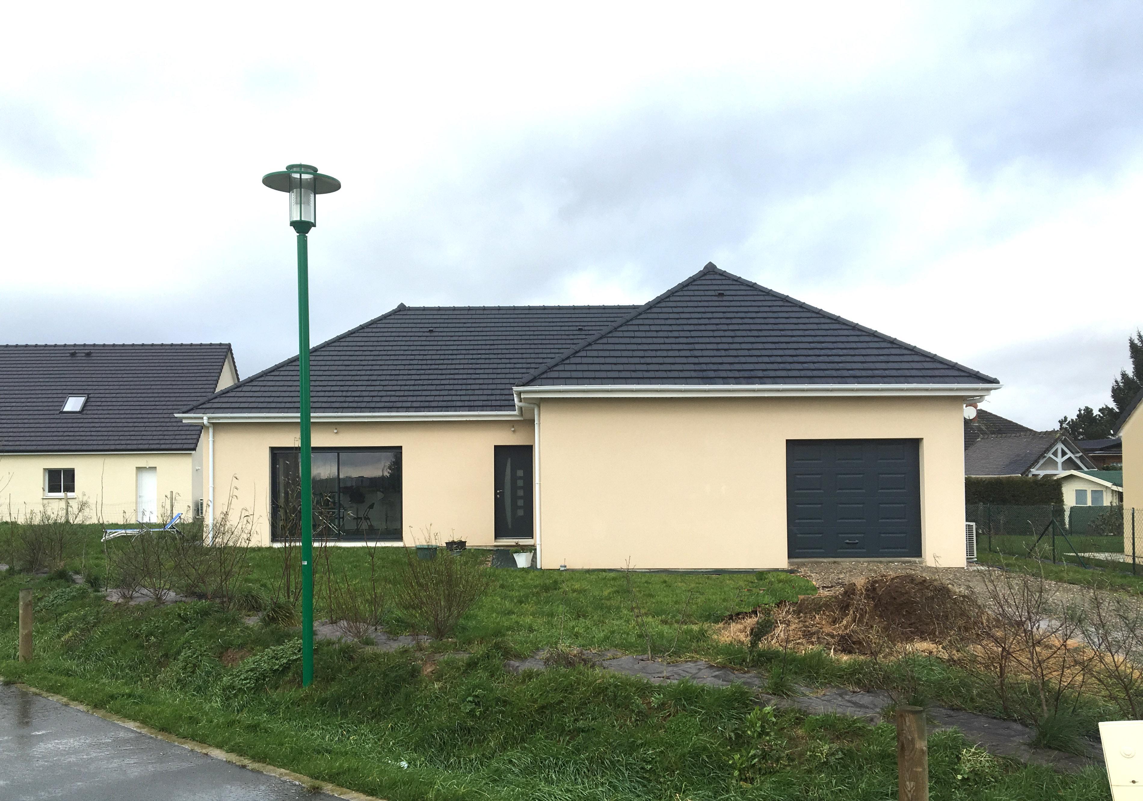 Maisons + Terrains du constructeur MAISON FAMILIALE RENNES • 94 m² • ARGENTRE DU PLESSIS