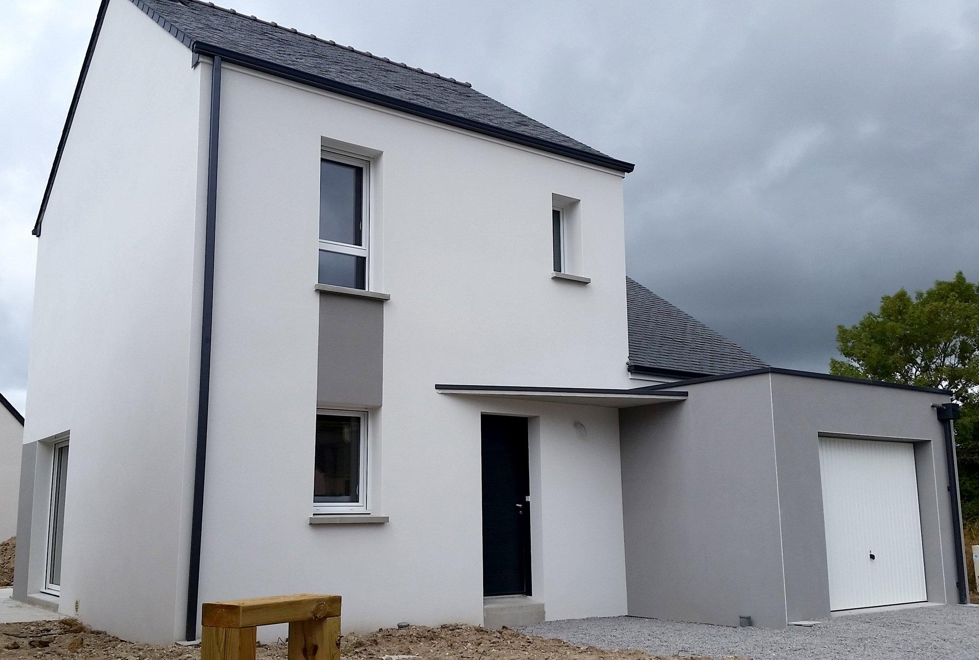 Maisons + Terrains du constructeur MAISON FAMILIALE RENNES • 130 m² • LE PETIT FOUGERAY