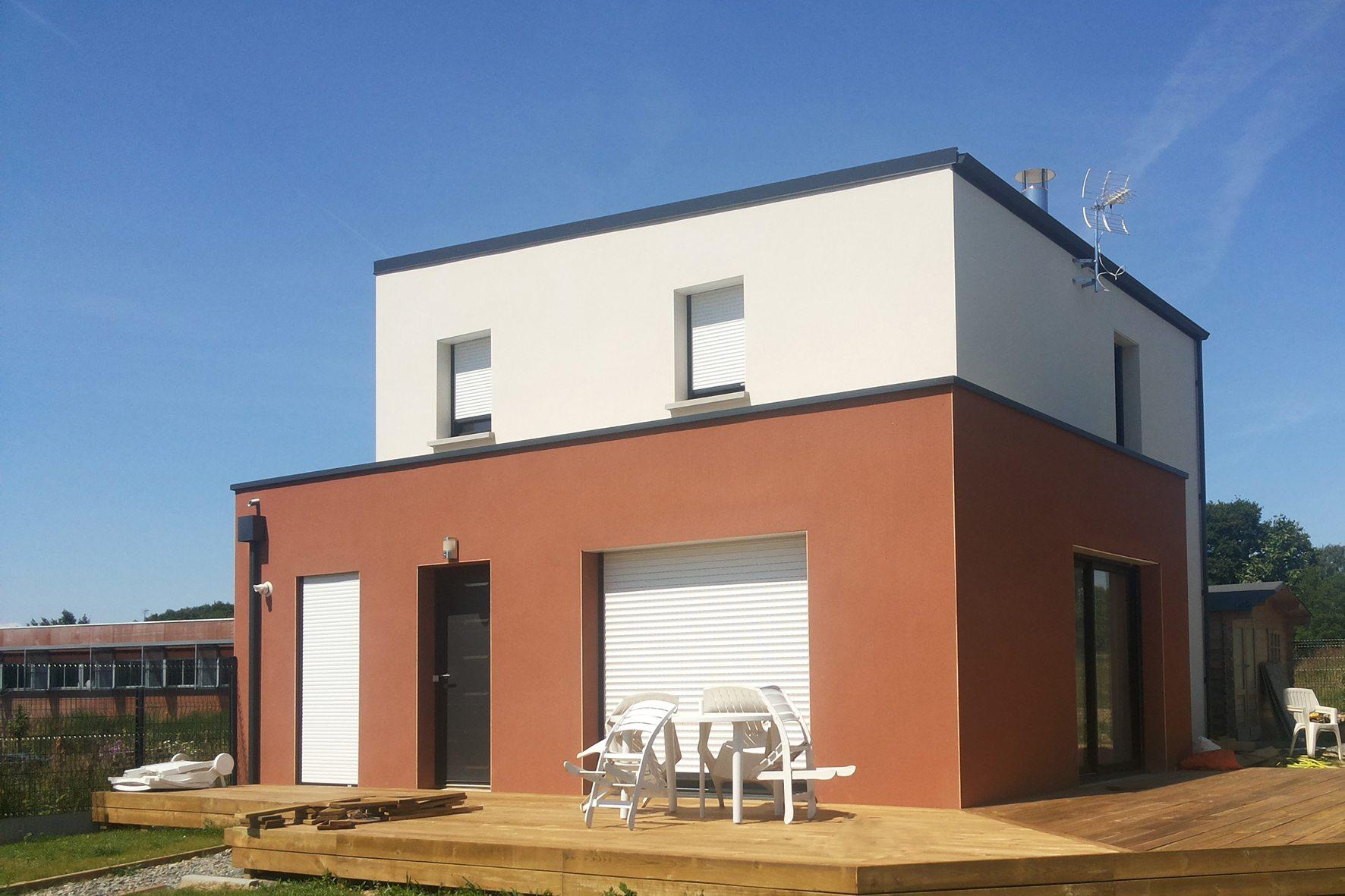 Maisons + Terrains du constructeur MAISON FAMILIALE RENNES • 110 m² • SENS DE BRETAGNE