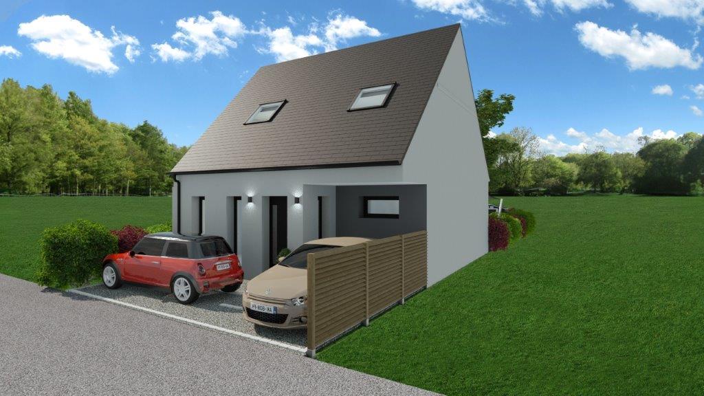 Maisons + Terrains du constructeur MAISON FAMILIALE RENNES • 95 m² • MORDELLES