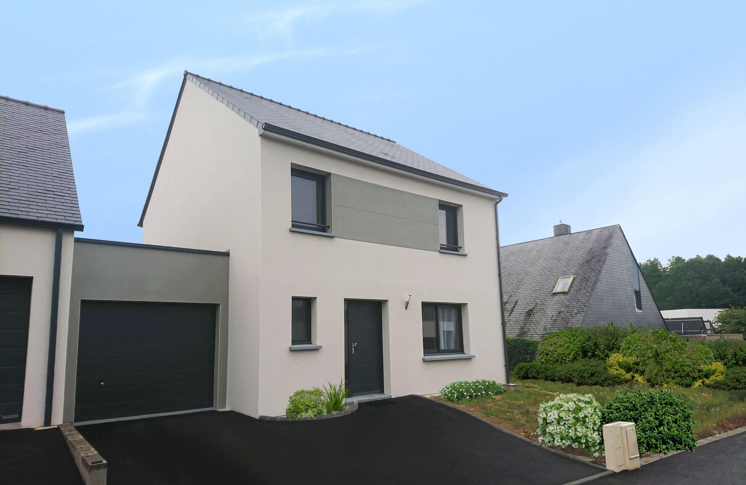 Maisons + Terrains du constructeur MAISON FAMILIALE RENNES • 130 m² • SAINT THURIAL