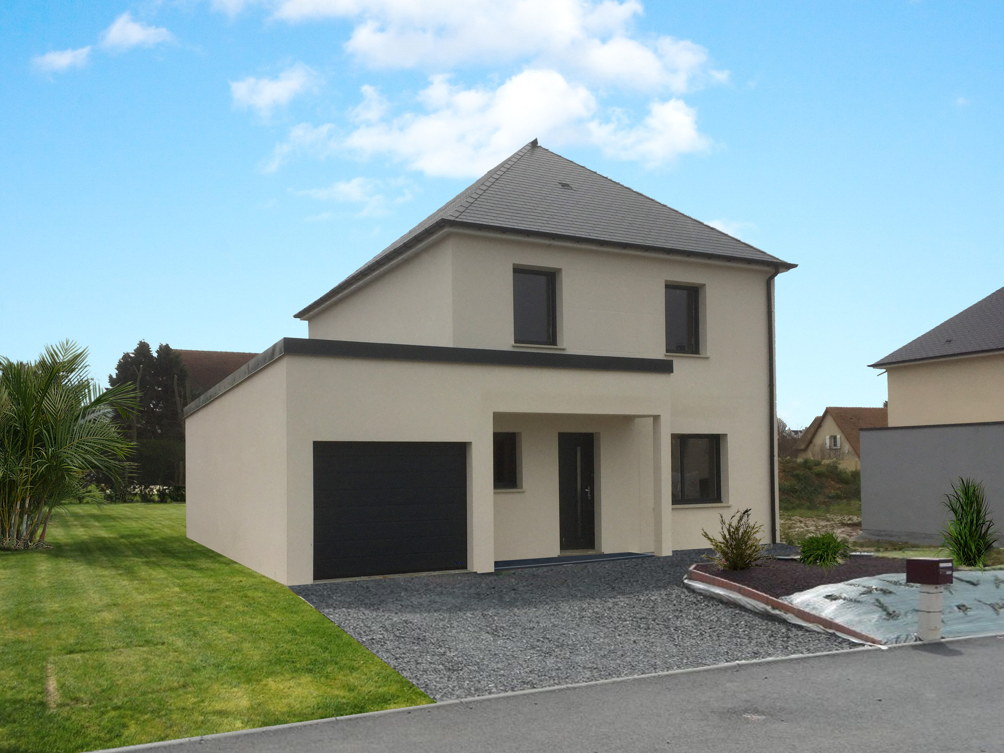 Maisons + Terrains du constructeur MAISON FAMILIALE RENNES • 108 m² • MONTERFIL