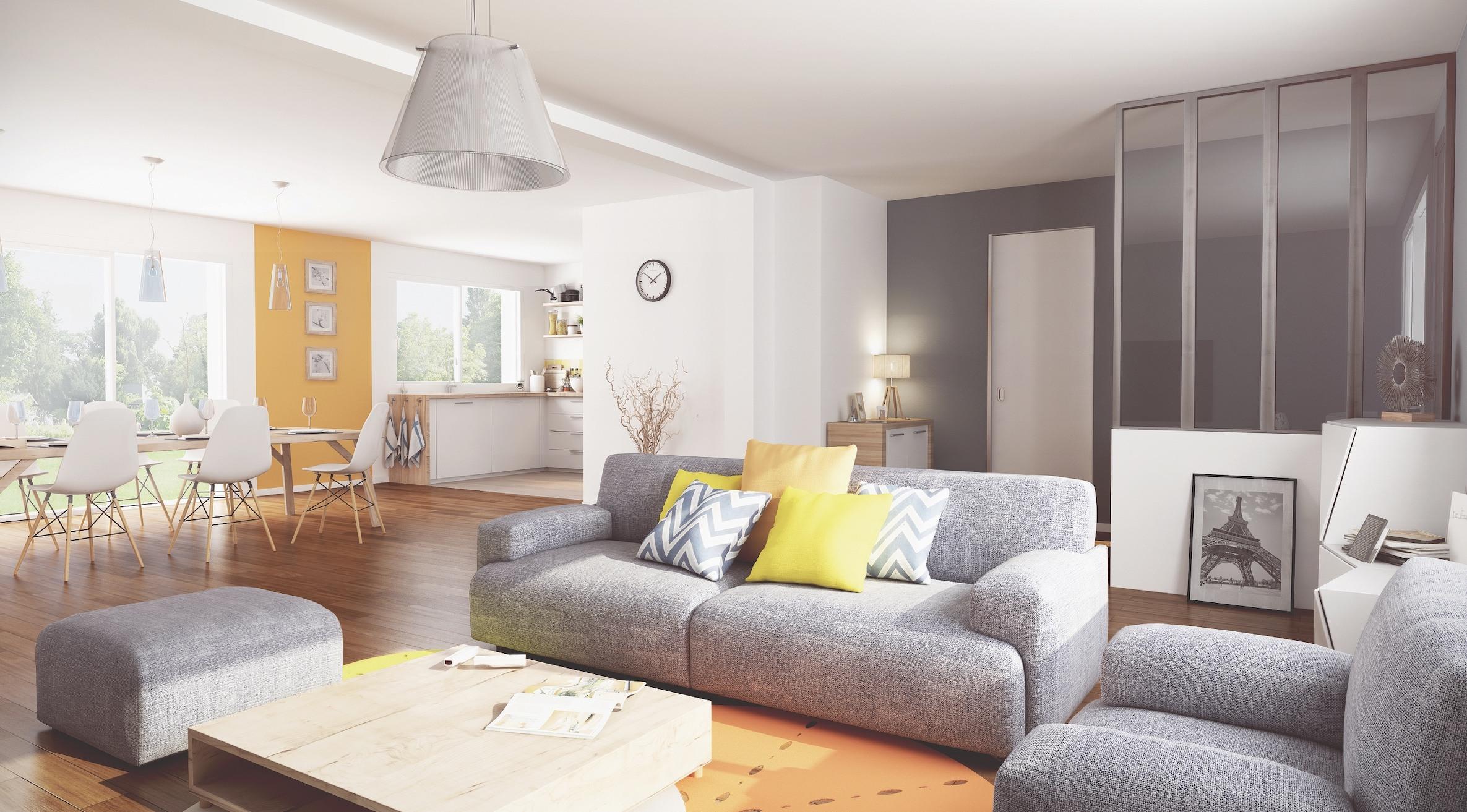 Maisons + Terrains du constructeur MAISON FAMILIALE RENNES • 145 m² • GUICHEN