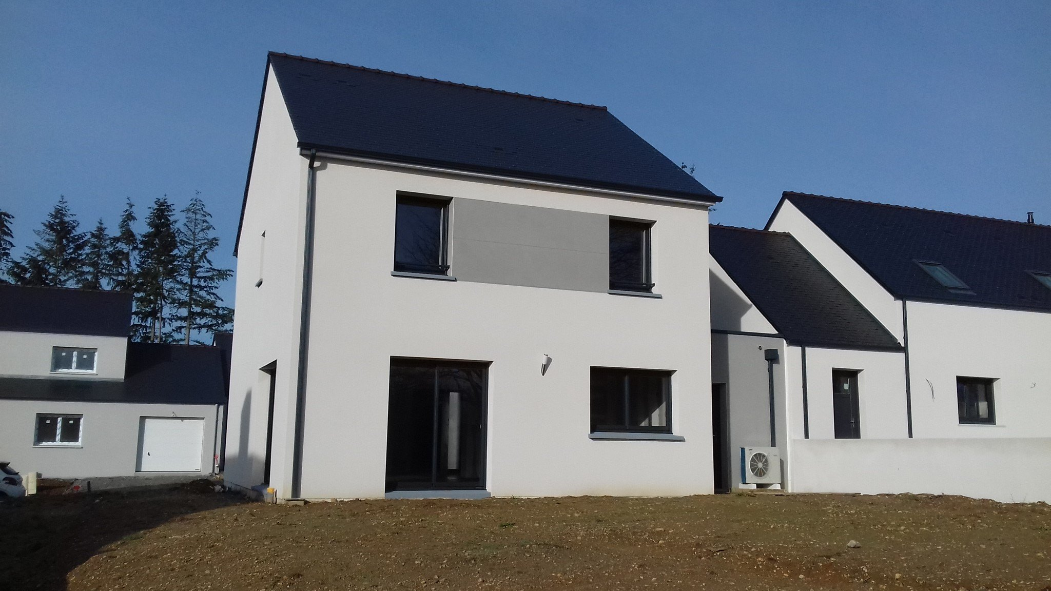 Maisons + Terrains du constructeur MAISON FAMILIALE RENNES • 130 m² • DOMAGNE