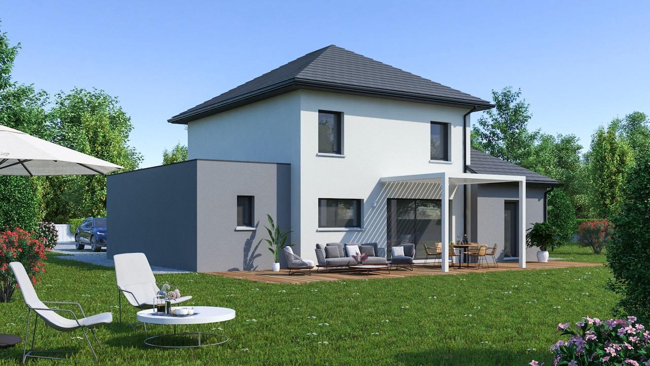Maisons + Terrains du constructeur MAISON FAMILIALE RENNES • 128 m² • LANDUJAN
