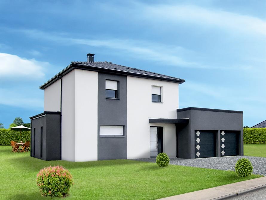 Maisons + Terrains du constructeur MAISON FAMILIALE RENNES • 130 m² • LE SEL DE BRETAGNE