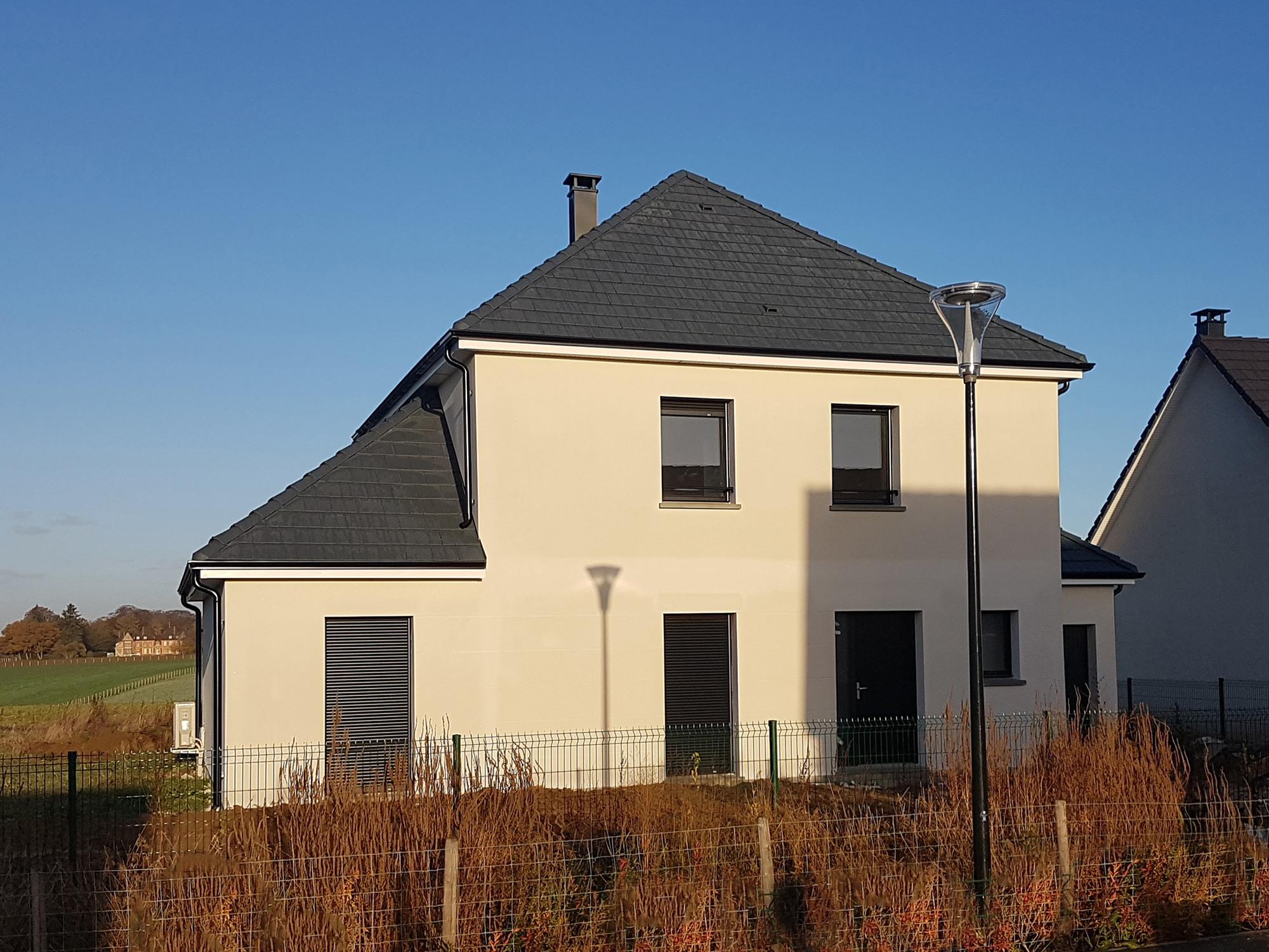 Maisons + Terrains du constructeur MAISON FAMILIALE RENNES • 145 m² • BAINS SUR OUST