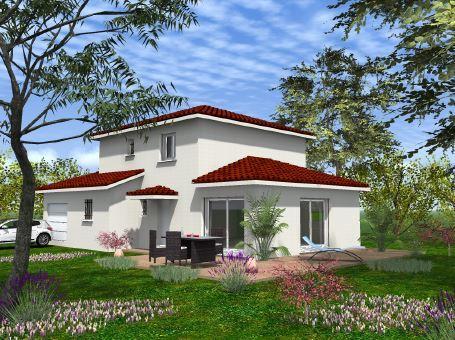 Maisons du constructeur ESQUISS 69 • 128 m² • BRINDAS