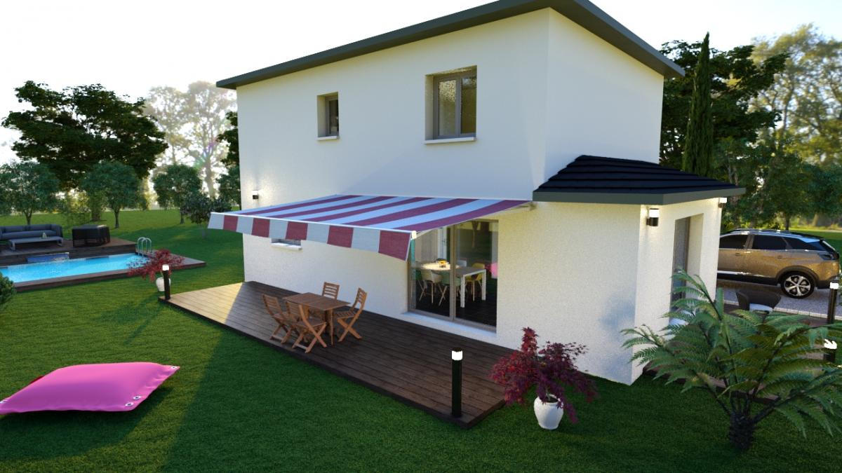 Maisons du constructeur ESQUISS 69 • 112 m² • CORBAS